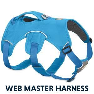 Con el arnés Ruffwear Web Master evitarás que tu perro se escape